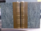 MEMOIRES DE LA SOCIETE ETHNOLOGIQUE. Mémoire sur les GUANCHES, les PARSIS, les SICKS, les FOULAHS, les YEBOUS etc...2 volumes.. MEMOIRES DE LA SOCIETE ...