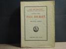Fauteuil XXXIII. Paul BOURGET. Suivi de Pages inédites et de L'Histoire du XXXIIIème fauteuil.. CARCO Francis