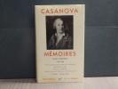 Mémoires. Tome II. 1756-1763.. CASANOVA