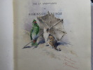 Vie et Aventures de ROBINSON CRUSOE. 4 volumes.. DEFOE Daniel - MOUILLERON - GIACOMELLI