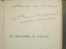 Le Réalisme de PASCAL.. MASSIS Henri