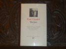 THEÂTRE. Tome II.. CLAUDEL Paul