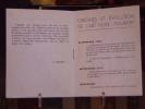 RYTHME 50. Numéro 3. Novembre.. HERBIN Auguste - ROSSI D.