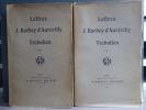 LETTRES de J. BARBEY D'AUREVILLY à TREBUTIEN.. BARBEY DAUREVILLY Jules
