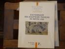 Dictionnaire des Sculpteurs Français du Moyen Âge.. BEAULIEU Michèle - BEYER Victor