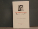 OEUVRES COMPLETES. I.. QUENEAU Raymond