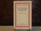 La danseuse impassible.. CORTHIS André