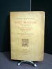 Les voyages merveilleux de SAINT BRANDAN à la recherche du Paradis Terrestre. Légende en vers du XIIe siècle, publiée d'après le manuscrit du Musée ...