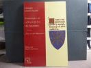 Symbolique de la fleur de lys des armoiries, suivi de L'écu en art héraldique.. LANOË-VILLENE Georges