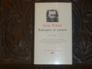 Journaux et carnets. Tome I ( 1847-1889 ).. TOLSTOI Léon