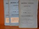 BIBLIOTHEQUE UNIVERSELLE DE GENEVE. Nouvelle Série - Cinquième Année N°49 à 60. ( 1840 ) - 12 volumes, année complète.. BIBLIOTHEQUE UNIVERSELLE DE ...