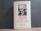 OEUVRES COMPLETES.. CHODERLOS DE LACLOS Pierre-Ambroise-François
