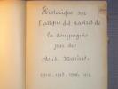 Historique sur l'attaque des navires de la compagnie par des sous-marin. 1914 - 1915 - 1916 - 1917.. COMPAGNIE DE NAVIGATION MIXTE