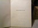 TERECHKOVITCH. Avec 2 lithographies originales en couleurs.. CRESPELLE J.-P.
