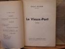 LE VIEUX-PORT. Poèmes. SICARD Emile
