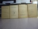 LES TACHES D'ENCRE. Gazette mensuelle par M. Maurice BARRES. 4 numéros ( Collection complète ).. BARRES Maurice