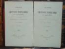 Chants et Chansons Populaires du Languedoc recueillis et publiés avec la Musique notée et la traduction française. 2 volumes.. LAMBERT Louis