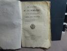 De l'Ordre de la Noblesse et de son Antiquité chez les Francs.. JOLY DE BEVY Louis-Philippe-Joseph