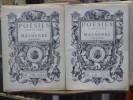 POÉSIES COMPLÈTES. 2 volumes.. MALHERBE François ( De )