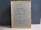 Lettres à l'Abbé CORNUAU et au Frère DACIEN.. BLOY Léon