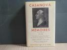 Mémoires. Tome I. 1725-1756.. CASANOVA