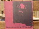 EXPRESSIONNISME ALLEMAND 1900-1920. Exposition à Marseille au Musée Cantini 17 mai - 15 Août 1965.. EXPRESSIONNISME ALLEMAND
