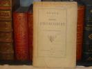 Notice sur le Domaine d'HAVRINCOURT.. HAVRINCOURT ( D' ) M. Le Marquis