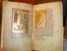 BESTIARIUM - Fac-similé du manuscrit du Bestiaire Ashmole 1551 ( Library of Oxford ).. BESTIARIUM