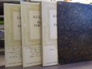 Contes fantastiques complets. 3 volumes.. HOFFMANN E.T.A.