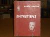 ENTRETIENS.. BRETON André