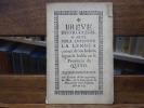 Breve instruccion ó arte para entender la lengua de los indios, segun se habla en la Provincia de Quito.. NIETO POLO Tomàs