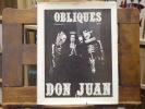 DON JUAN - Obliques Numéro 4-5.. DON JUAN