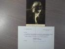 Photographie dédicacée et signée.. ACHARD Marcel
