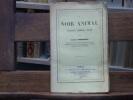Le NOIR ANIMAL. Analyse, Emploi, Vente.. BOBIERRE Adolphe