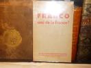 FRANCO ami de la France ?. ESPAGNE