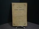 Analyse du Cours de Chimie Agricole.. M. F. MALAGUTI.