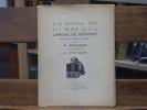 LA SAGA DE GUNNLAUG - LANGUE DE SERPENT. Traduite de l'ancien islandais avec une introduction par Félix WAGNER.. WAGNER F. - STUYVAERT V.