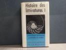 HISTOIRE DES LITTERATURES I. Littératures anciennes, orientales et orales. Encyclopédie de la Pléiade.. QUENEAU Raymond ( Sous La Direction De )