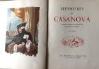 Mémoires de Casanova. Illustrés d'aquarelles originales par Jacques TOUCHET. . casanova illustre par touchet
