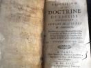 exposition de la doctrine de l eglise catholique sur les matieres de controverse sixième edition.