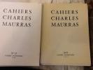 cahiers charles maurras du N° 9 trimestre 1963 au N°27 trimestre 1968 ,  N° 30, 31 et 32 trimestre 1969 ainsi que des fascicules du dictionnaire ...