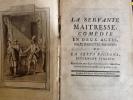 la servante maitresse comedie en deux actes melee d'ariettes, parodiees de la serva padrona, intermede italien, representee pour la premiere fois par ...