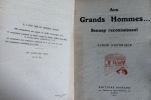 AUX GRANDS HOMMES . SENNEP RECONNAISSANT - ALBUM HISTORIQUE SENNEP Jean-Jacques Charles (Pseudonyme de PENNES) . SENNEP Jean-Jacques Charles ...