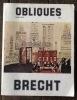 Obliques, numero 20-21; Brecht. Richard, Lionel