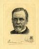Pasteur et les pastoriens avec un portrait à l'eau-forte par Bracquemond. [BRACQUEMOND (Félix)] FLEURY (Maurice de)