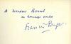 Braque. PONGE (Francis)