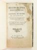 Recherches historiques sur l'Office de Maire de Bordeaux.  [ édition originale ]. SAINT-GEORGES DE MONTMERCI, M. Marie de