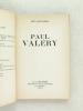 Paul Valéry. [ Livre dédicacé par l'auteur ]. SOULAIROL, Jean