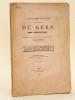 Bibliographie politique du département du Gers pendant la période Révolutionnaire.. TARBOURIECH, Amédée
