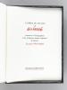 L'Opéra du Pauvre - Suite des 32 lithographies originales en feuillets - Suite des 32 lithographies originales à plat sous portfolio.. FERRE, Léo ; ...
